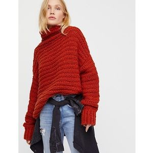 Free People Sweaters - Free People Links Links Mock Neck Sweater